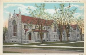 INDIANA , Pennsylvania, 1900-10s ; First United Presbyterian Church