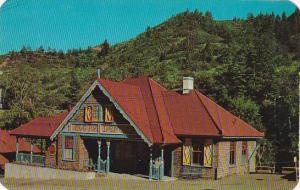 Colorado Manittou Springs Picturesque Bavarian Style Depot Of The Worlds High...