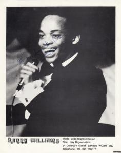 Danny Williams South African Soul Singer Antique Noel Gay Big Hand Signed Photo