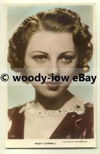 b2093 - Film Actress - Mady Carrell - postcard