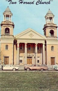FIRST CONGREGATIONAL CHURCH Two Horned Church MARIETTA, OH
