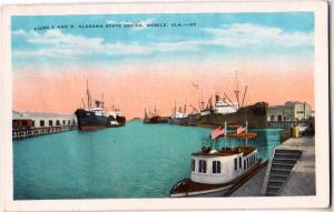 Pier A & B State Dock, Mobile Ala
