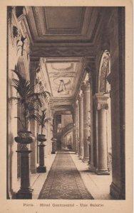 PARIS , France,1900-10s, Hotel Continental - Une Galerie