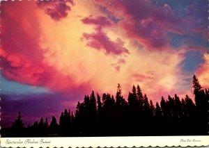 Alaska Alaskan Sunset