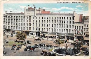 Hotel Woodruff Watertown NY 1933