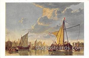 Maas at Dordrecht By Cuyp 1620-1691 Ship Postcard Post Card By Cuyp 1620-1691...