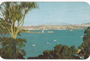 Bridge , Harbour , AUCKLAND , New Zealand , PU-1962