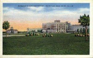 Entrance to Penitentiary - Joliet, Illinois IL