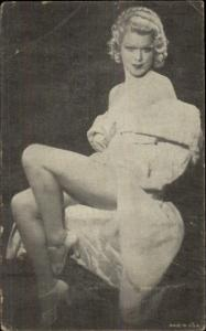 c1930s Semi-Nude Sexy Pin-up Showgirl Exhibit Arcade Card #7