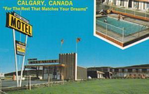 West Valley Motel , CALGARY , Alberta , Canada , 50-60s