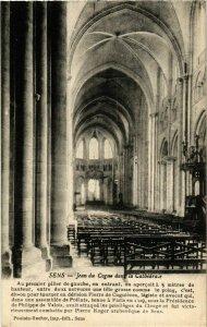 CPA Sens - Jean du Cogne dans la Cathedrale FRANCE (960862)
