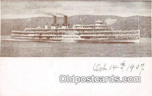 Hudson River Day Line Steamer  Ship Postcard Post Card Postcard Post Card Hud...