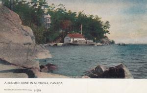 MUSKOKA, Ontario, Canada, 1900-10s; A Summer Home