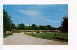 Muskegon MI El Royal Motel on Hwy US 16 Postcard