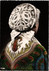 CPM Costumes de la Touraine, Coiffe Tourangelle FOLKLORE (753112)