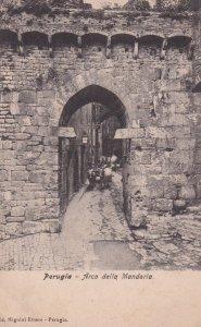 PERUGIA , Italy , Arco della Mandorla, 1900 - 1910