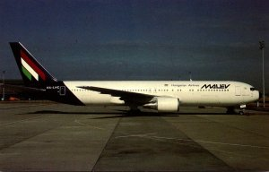 Malev Hungarian Airlines Boeing B-767-375-ER At Ferihegy Airport Budapest Hun...