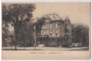 Hodskin House, Canton NY