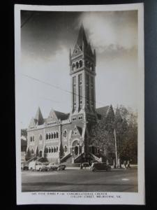 Australia: MELBOURNE Congregational Church, Collins Street Old RP PC