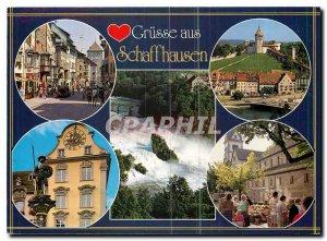 Old Postcard Grusse aus Schaffhausen
