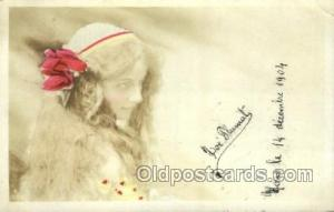 Loe Flumat Foreign Film Stars Old Vintage Antique Postcard Post Card  Loe Flumat