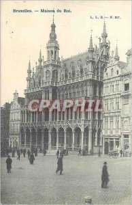 Old Postcard Brussels - King's house