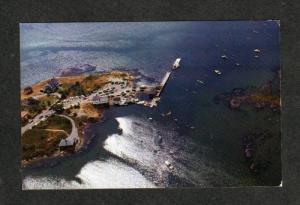 ME Aerial Harbor Pier CAPE PORPOISE KENNEBUNKPORT MAINE