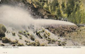 B.C. , Canada , 1900-10s ; Hydraulic Mining
