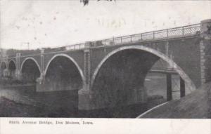 Iowa Des Moines Sixth Avenue Bridge