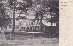 New Jersey Ocean Grove An Avenue Of Tent Dwellers 1906