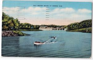 Motor Boats at Norris Dam TN