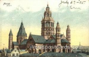 Mainz Germany, Deutschland Postcard Der Dom  Der Dom