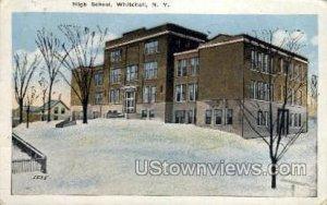 High School, Whitehall - New York