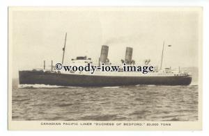 LS1021 - Canadian Pacific Liner - Duchess of Bedford - postcard