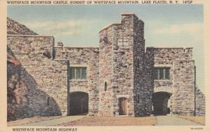 LAKE PLACID, New York, 1930-40s; Whiteface Mountain Castle, Highway