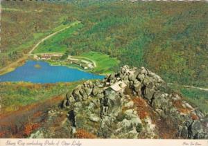 Virginia Sharp Top Overlooking Peaks Of Otter Lodge