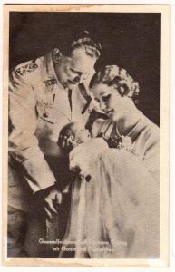 Generalfeldmarshall Herman Garing mit Gattin nd Tochterchen