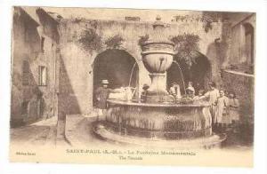 Le Fontaine Monumentale, Saint-Paul, France, 00-10s