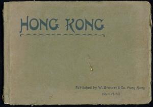 china, HONG KONG, Book with 24 Pictures of Hong Kong by Brewer & Co. (1910s)