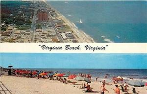 VA, Virginia Beach,  Virginia, Beach Scene, City View, Multi View, Dexter Press
