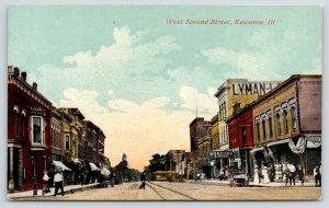 Kewanee Illinois~West Second Street~Nobiling & Reed~Lyman Store~Ladies~c1910