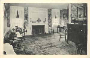 Farmington Michigan~Botsford Tavern~The Sitting Room~Fireplace~1930s Albertype