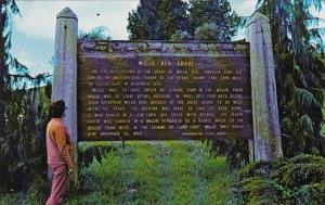 Willie Keils Grave Ocean Park Washington