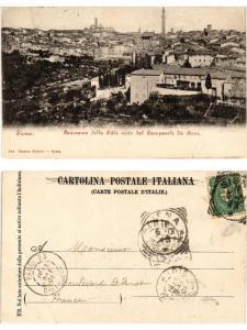 CPA SIENA Panorama della Citta visto dal Campanile dei Servi. ITALY (467343)