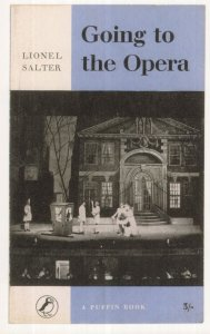 Going To The Opera Lionel Salter 1958 Puffin Book Postcard