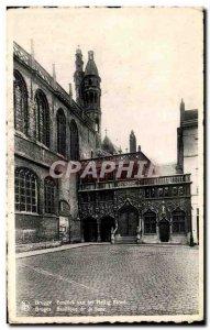 Postcard Old Bruges Basiliek van het Heilig
