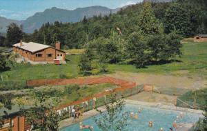 Swimming Pool, Longhouse, Girl Guide Privincial Campsite, ROSEDALE, British C...
