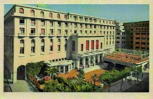 Algeria L'Hotel Aletti Hotel Entrance Postcard