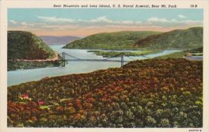 New York Bear Mountain and Iona Island U S Naval Arsenal