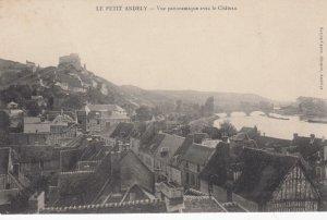 LE PETIT ANDELY, France, 1910-1920s, Vue Panoramique avec le Chateau